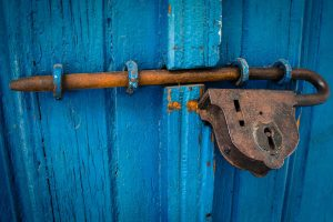 Antique Lock History