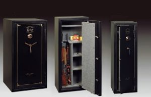 Gun safe display - 3 models