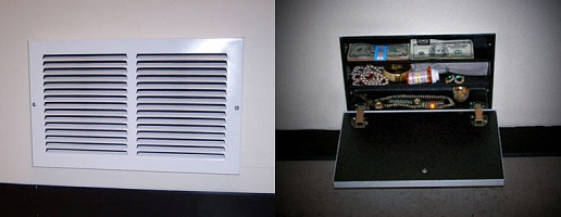 hidden safe vent style