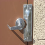 latch guard door tamper protection 1