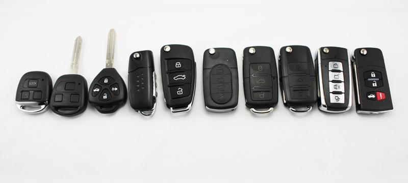 various-car-key-types