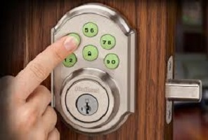 residential keypad lock 5 button