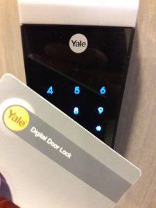 Yale Digital Door Lock with card